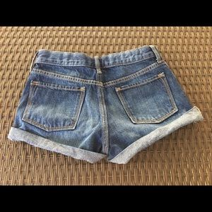 Old Navy Bottoms - OLD NAVY DISTRESSED DENIM SHORTS